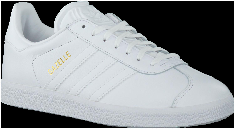 Witte ADIDAS Sneakers GAZELLE DAMES | Sneaker, Adidas, Schoenen