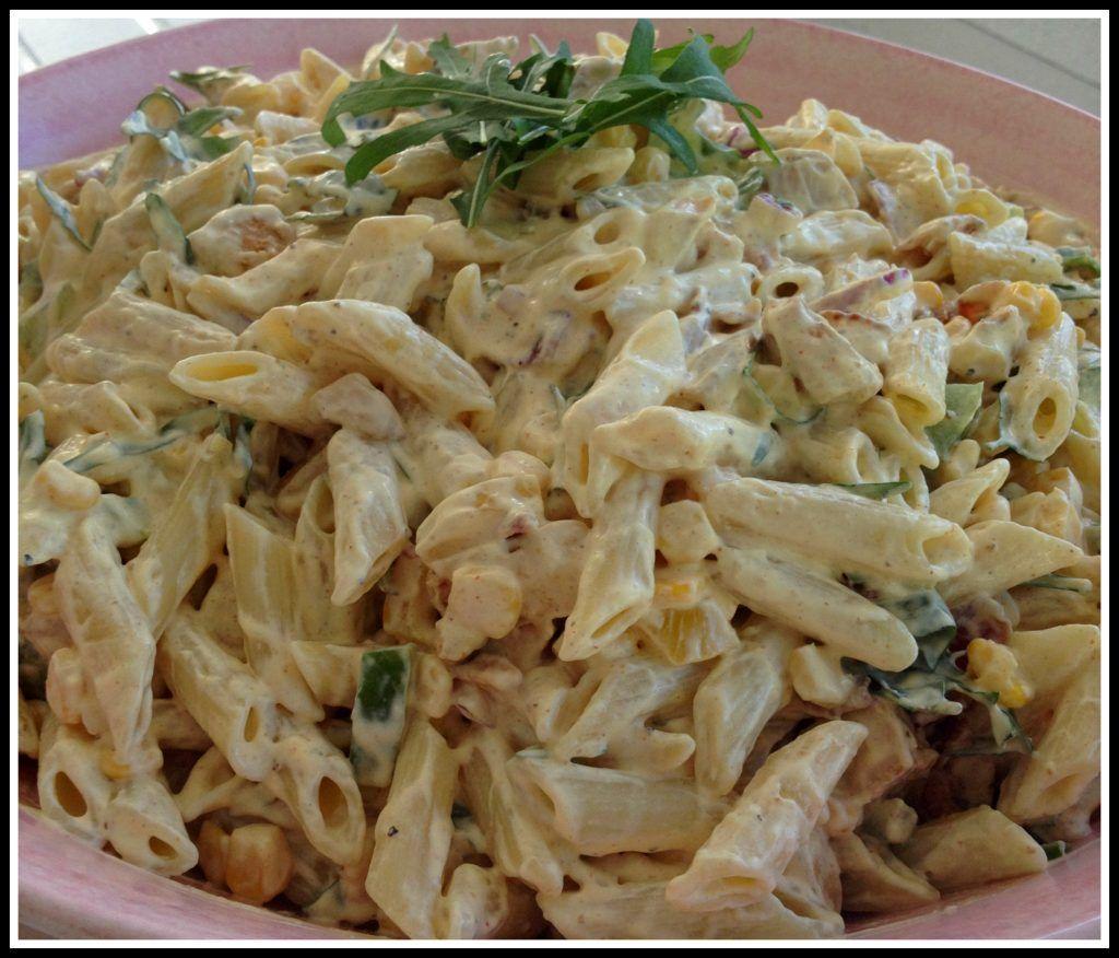Pastasallad Med Kycklingfile Och Curry Linda S Goda