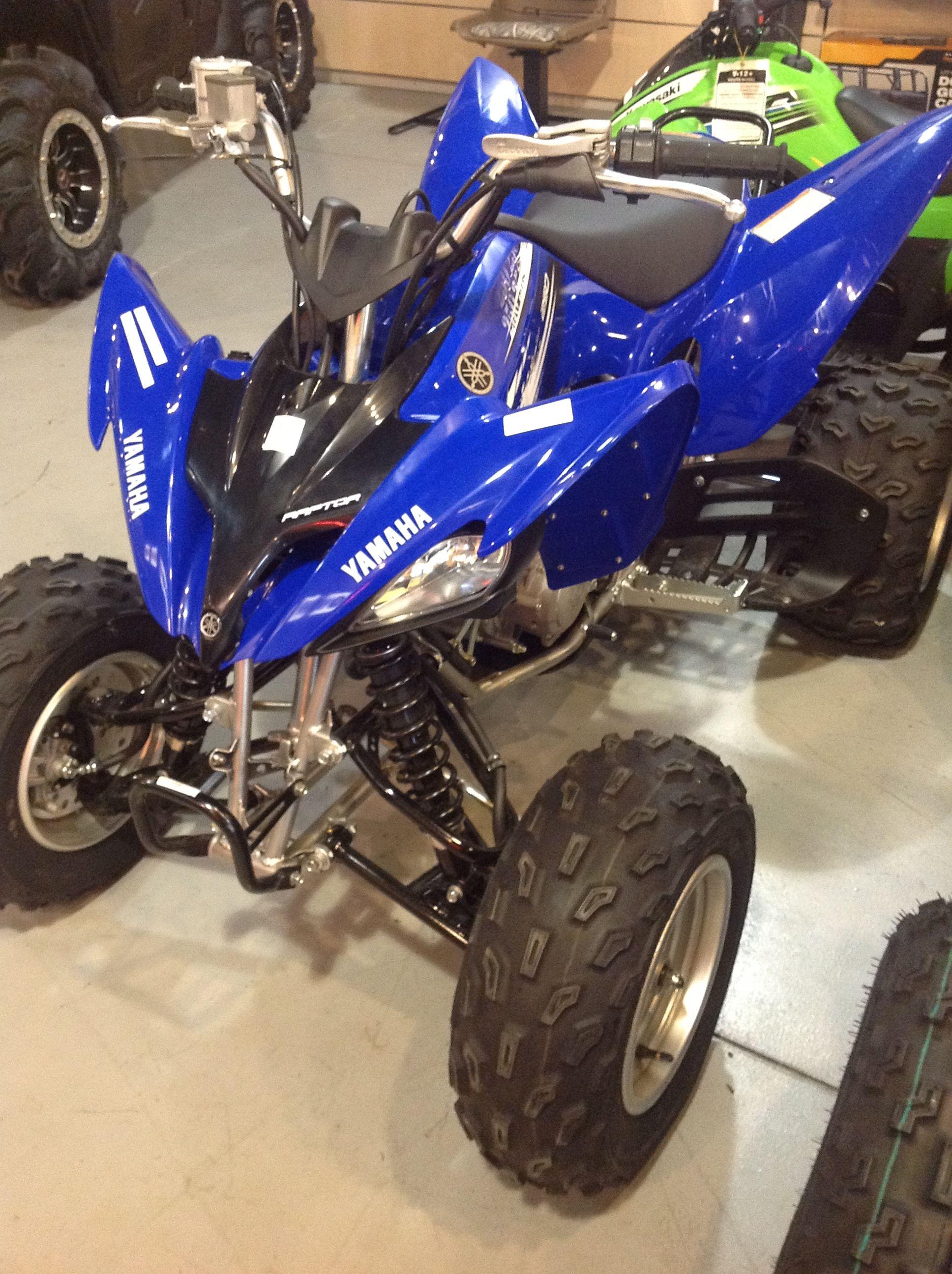 yamaha raptor 250 motocross motorrad