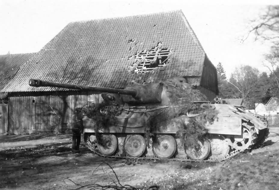 Panther, Západní Německo 1945