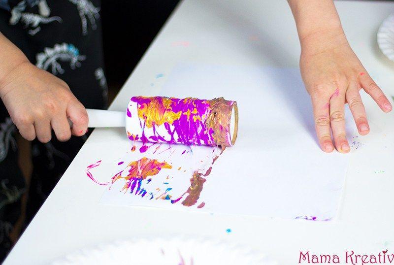 Malen mit Kindern: 4 coole Ideen, die Kindern Spaß machen #bastelprojektefürdenfrühling