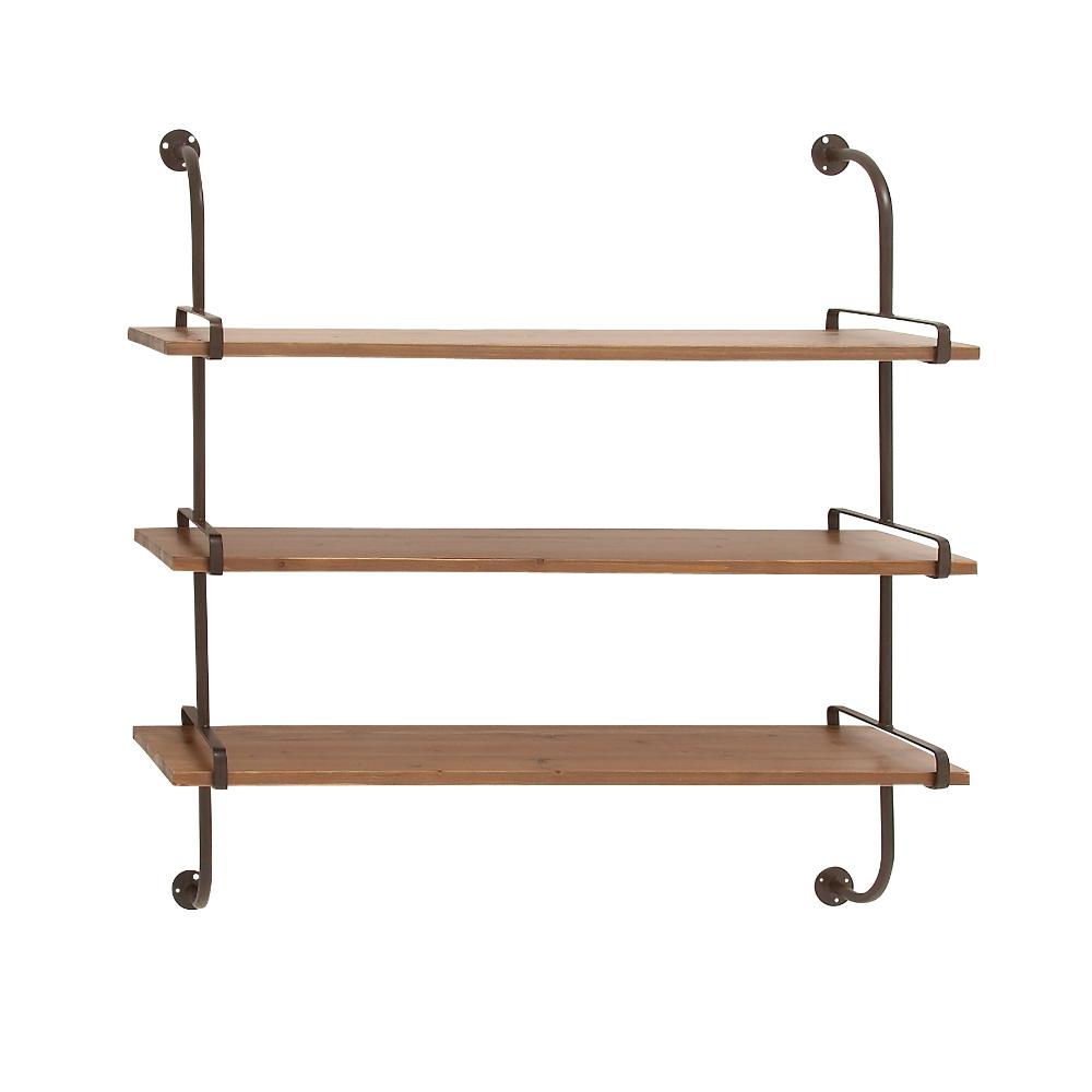 Home In 2020 Metal Wall Shelves Wood Wall Shelf Wall Shelves