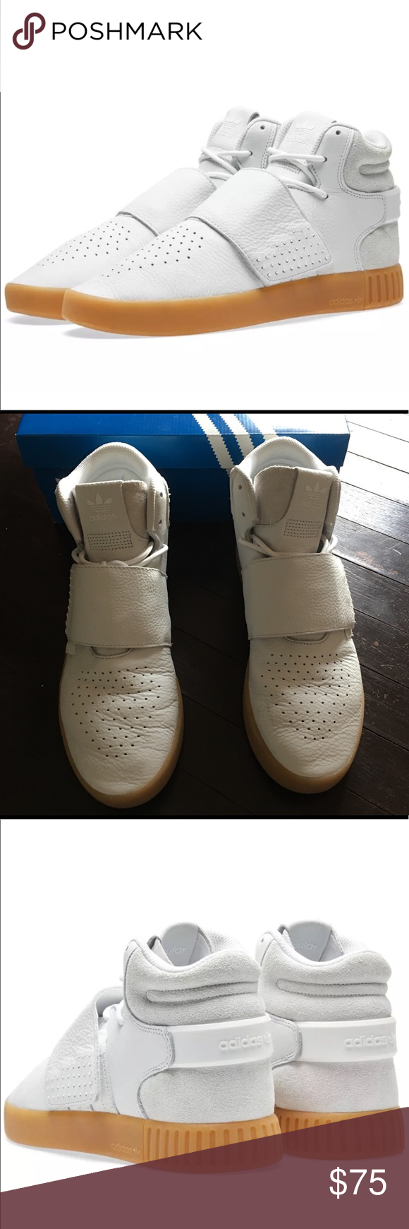 Uomo adidas tubulare invasore cinghia scarpe da ginnastica mio elegante sceglie