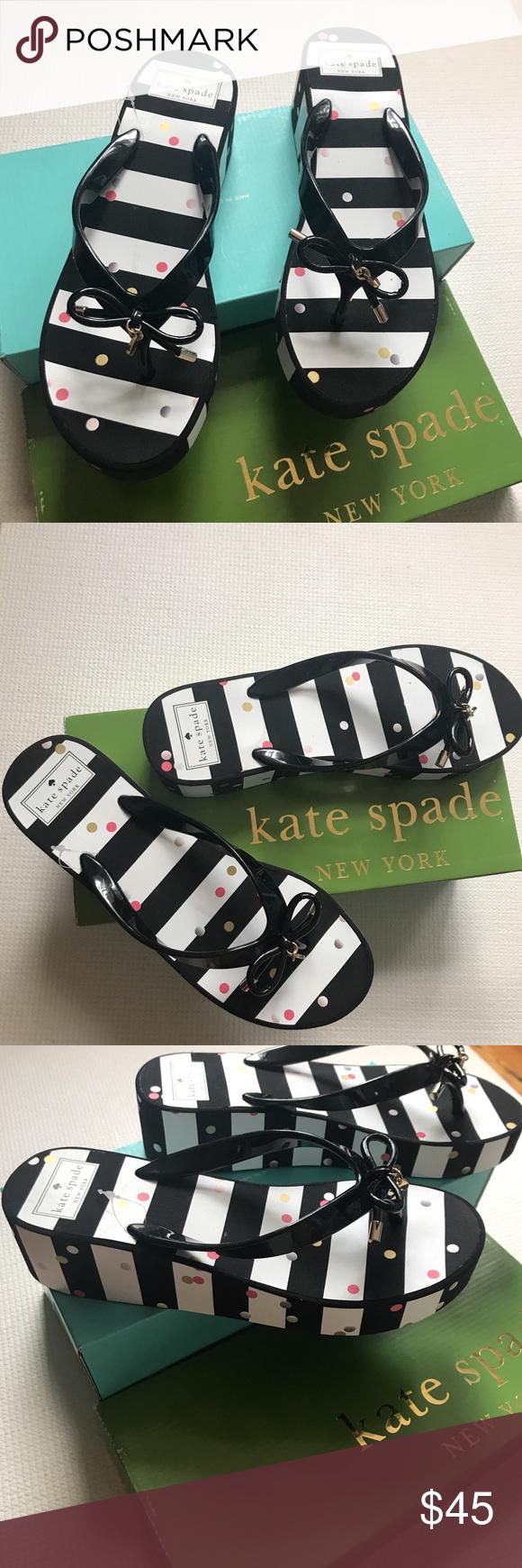 5bb19f35a1f098 🎀Kate Spade Rhett Polka Dots Flip Flops NEW Kate Spade Polka Dots Flip  Flops New Kate Spade New York authentic brand .. Polka dotted flip flops in  tonal ...