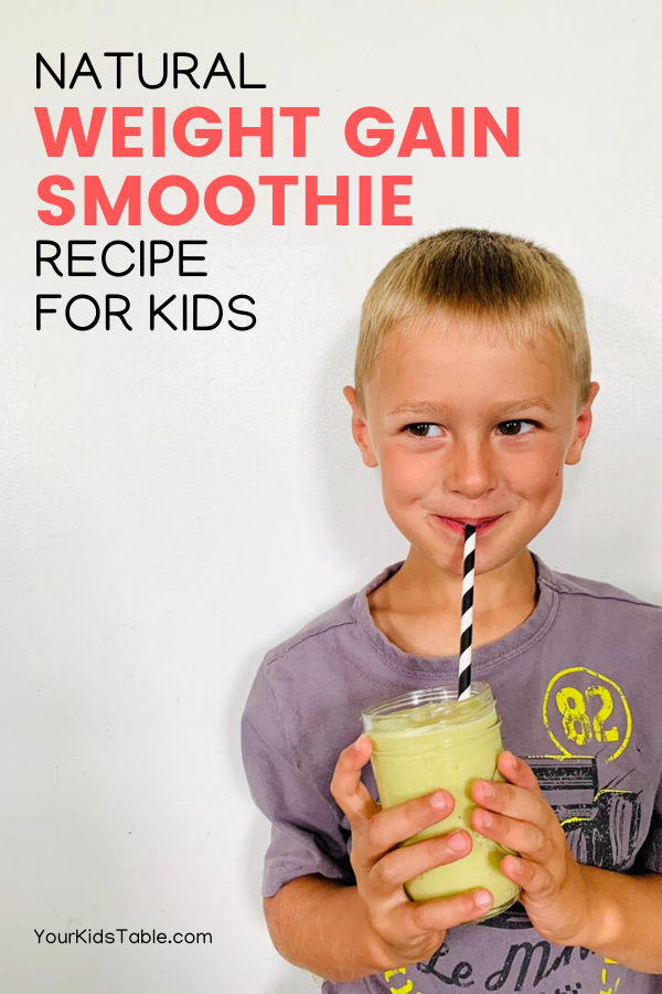 Kids Recipe in 2020 Smoothie recipes for kids, Gain