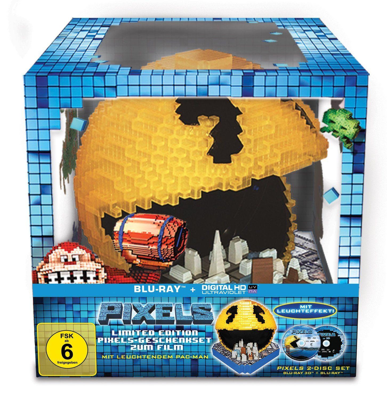 [Vorbestellen] Pixels Pacman Cityscape Edition 3D – Amazon Exklusiv | Steelbook-Junkies