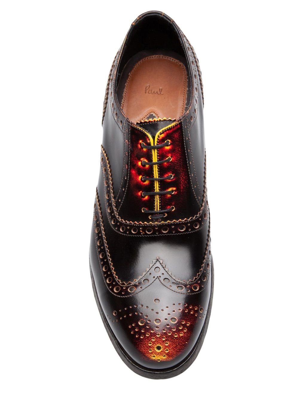 0c90f9897 Paul Smith Wing Tip Shoe - Traffic Men - Farfetch.com