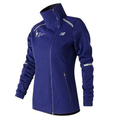 New Balance 73218 Women's NYC Marathon Windblocker Jacket - Purple  (WJ73218VTMP)
