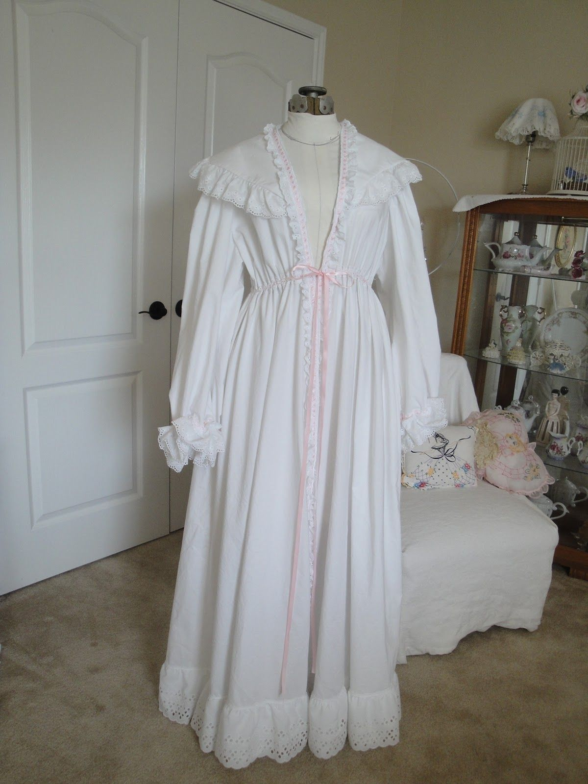 Victorian Nightgown Patterns It 39 S Not Even Close To Being Authentic In Design But Still It