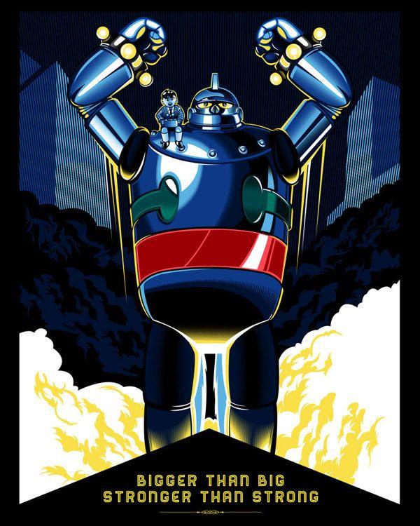 Tetsujin 28 Aka Gigantor For Ltd Gallery On Behance Art Gallery Art Geek Art
