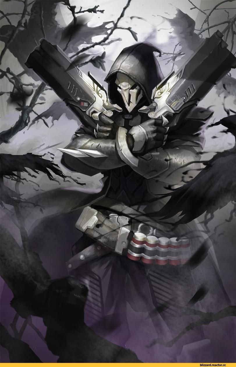 Reaper Overwatchoverwatchblizzardblizzard Entertainment
