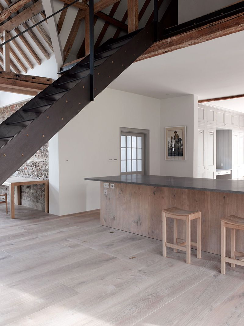 Excell Included Moveable Stairs As Part Of A Renovation Project