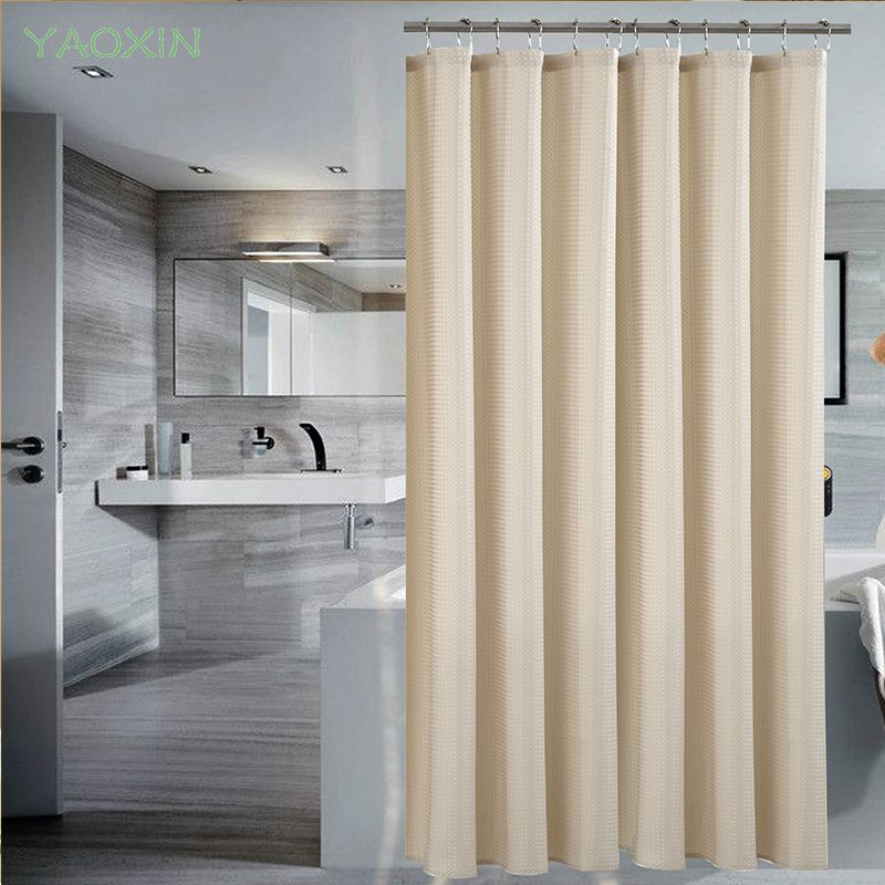 European Shower Curtain Pattern BeigeBath Screens Polyester Waterproof YouTube Recommend Curtains In The Bathroom