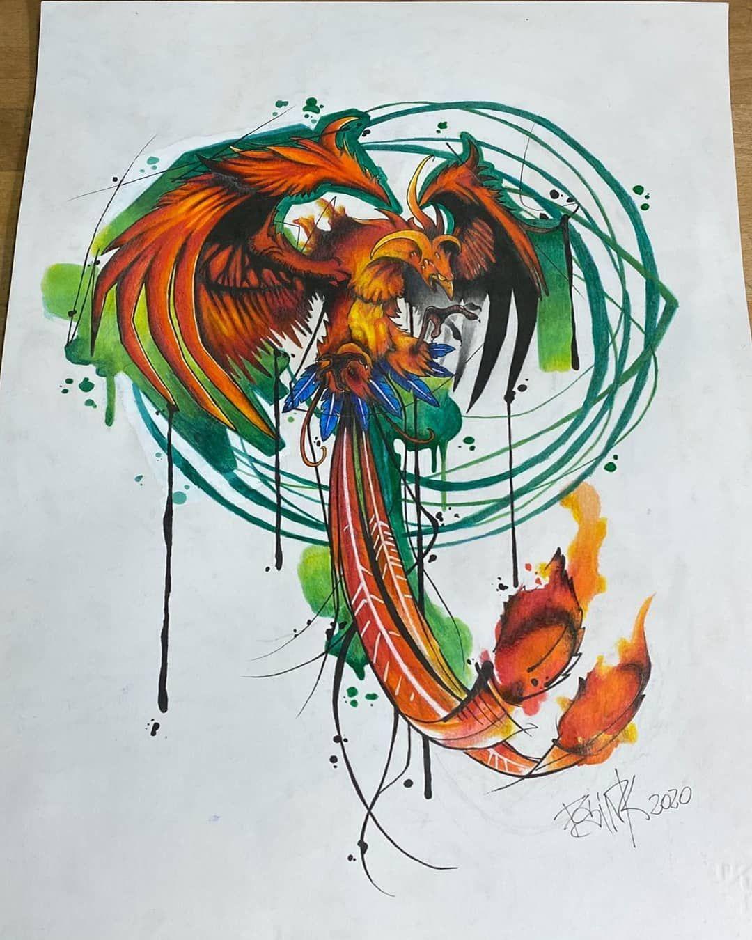 Rinasceremo.... #tattooworld #tattooer #tattooed #tattooing #tattoo2me #watercolor #watercolortattoo #watercoloring #wctattoos #tattooink #tattooitalia #palermo #tattoopalermo #tattooart #phoenix #siciliatattoo #avantgardetattoo #thebesttattooartists #inkedup #inkstagram #ink #inked #inkedmag #insta4like #amazingink #instatattoo #sleevetattoo #cartoon #tattooistartmagazine