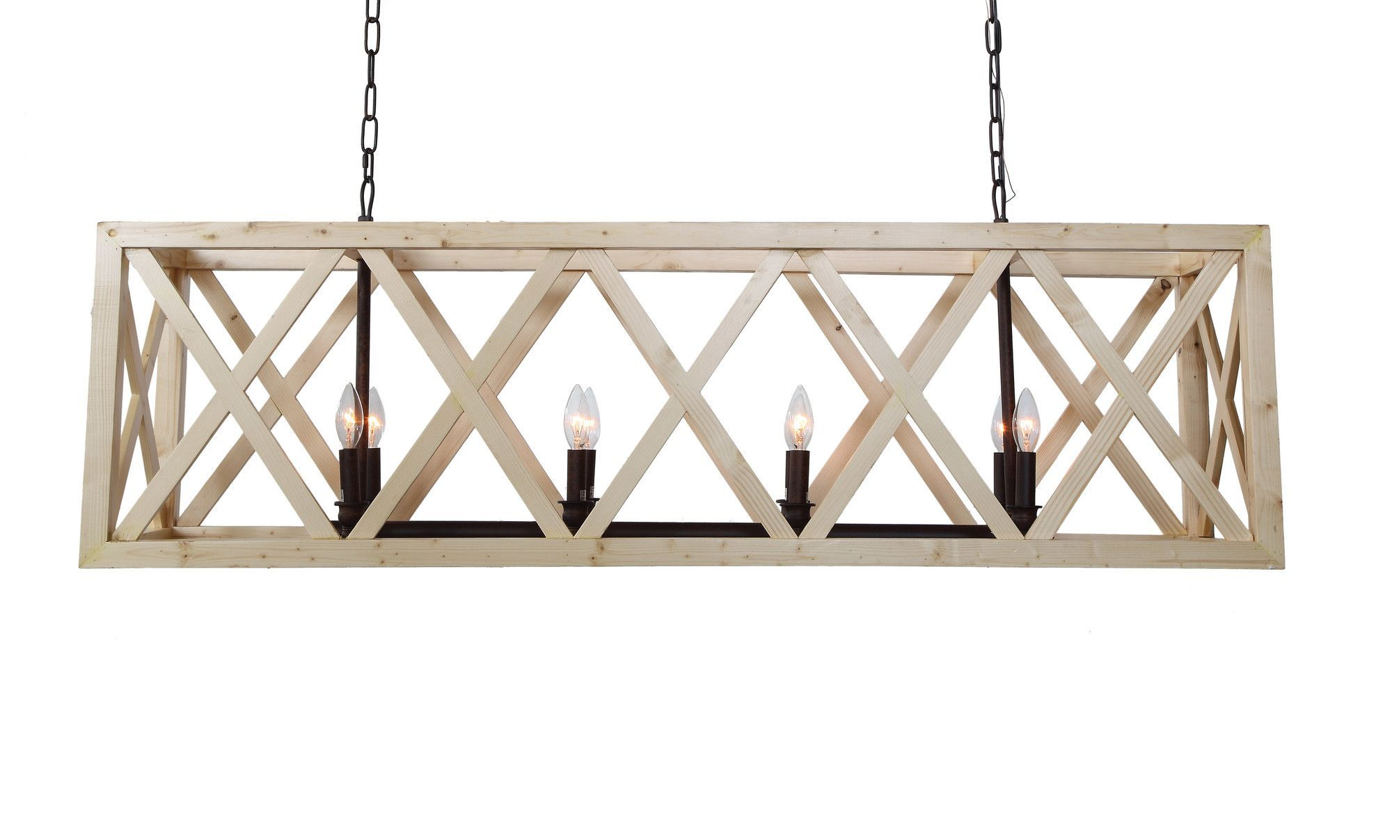 Features Gatherings Collection Material Wood And Iron Color Dining Room ChandeliersIron