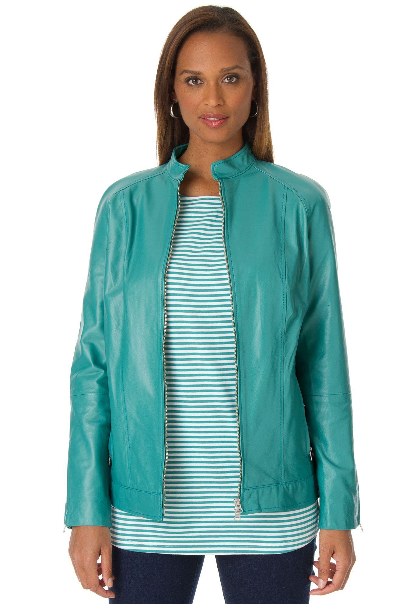 Plus Size Leather Jacket Plus size leather jacket