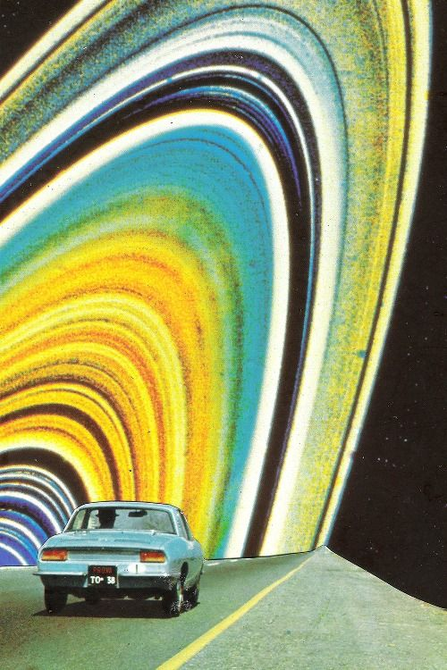 (Unknown artist) Saturn Ring collage