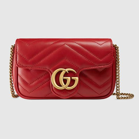 eaa958893c0 GUCCI Gg Marmont Matelassé Leather Super Mini Bag.  gucci  bags  leather