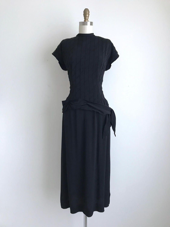 Sale 40 Off 1940s Dress Vintage 1940s Cocktail Dress Black Cocktail Dress 1940s Dresses Vintage Retro Clothing [ 1500 x 1125 Pixel ]