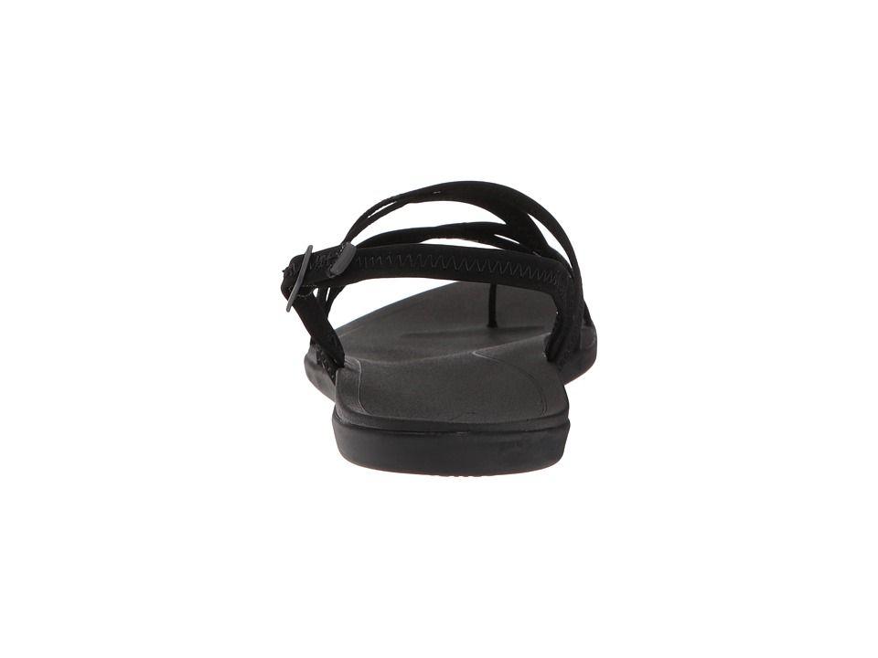 1bc5d84275e6 OluKai Kalapu Women s Sandals Black Black