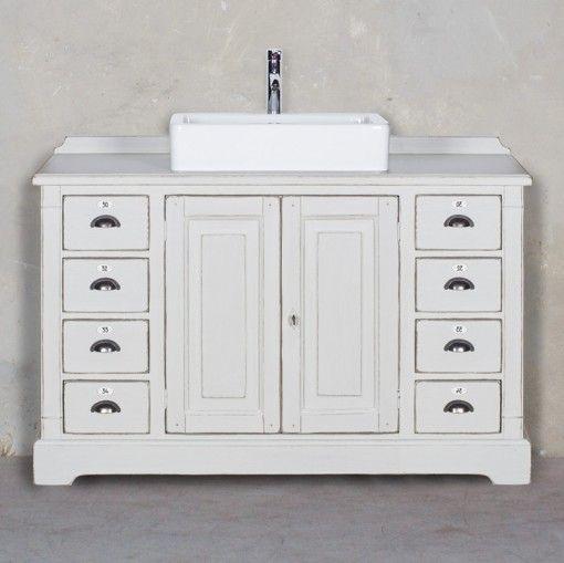 Meuble salle de bain - wwwlesmeublesdemetiers - Barbier double