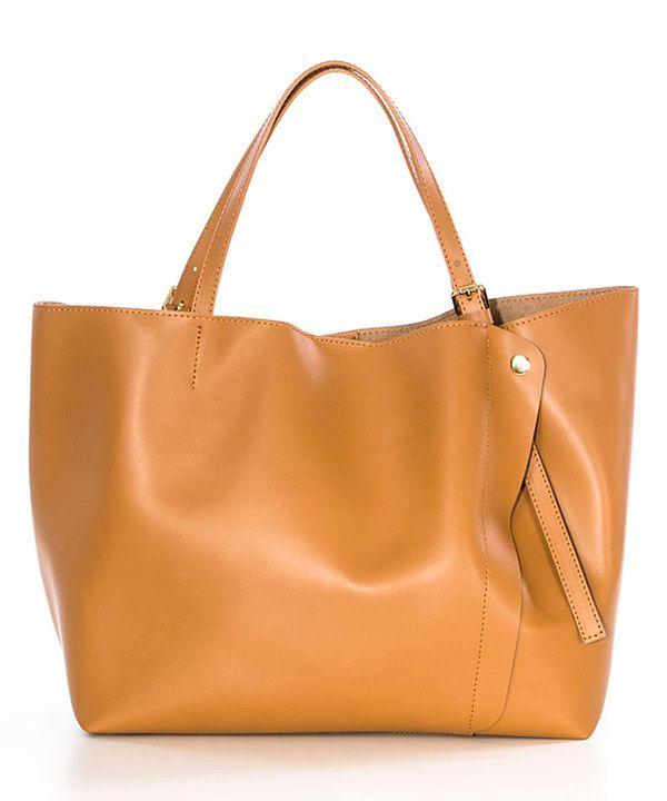 80a38ca248 Lucca Baldi Cognac Leather Tote. Lucca Baldi Cognac Leather Tote Best Purses