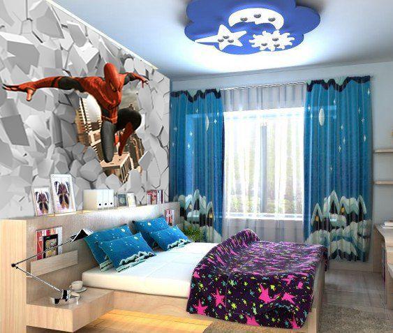 papier peint pour chambre enfant chambre nathan home. Black Bedroom Furniture Sets. Home Design Ideas