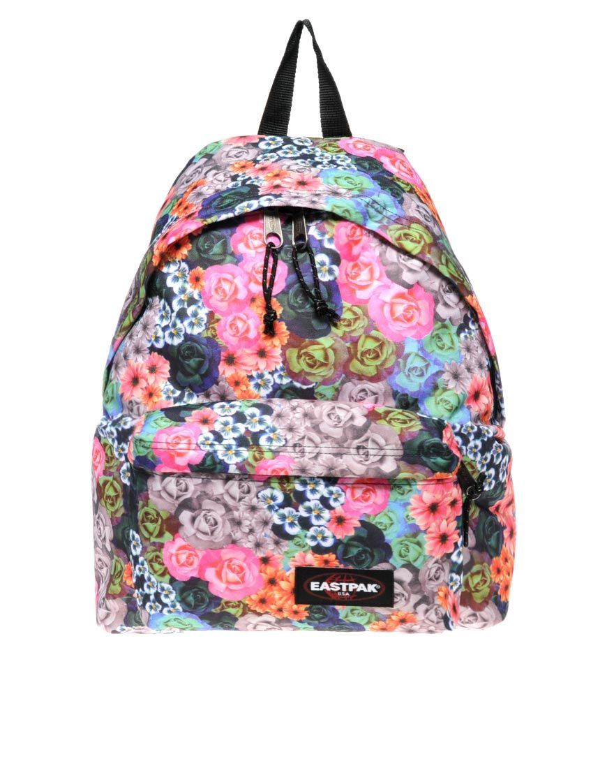 Schooℓspuℓℓen Floral · Pinterest Backpacks En Bags Eastpak qafaE