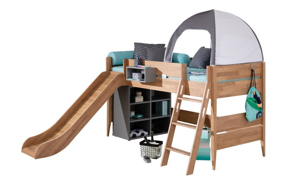 Hochbett Massivholz In 2020 Hochbett Bett