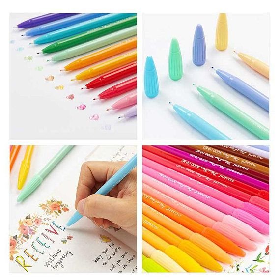 Assorted Monami PLUS PEN 3000 Color Pen Set of 36