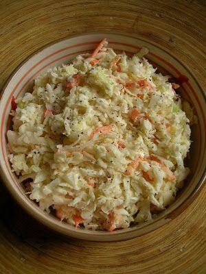 Kuchnia Szeroko Otwarta Surowka Coleslaw Najpyszniejsza Potrawy W