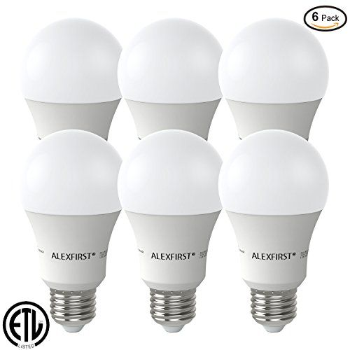 Alexfirst Led Lighting Bulbs 100 Watt Equivalent 11w Light Bulbs 1000 Lumens Non Dimmable A19 Base E26 6 Pack Dayli Led Smart Bulb Led Light Bulbs Light Bulbs