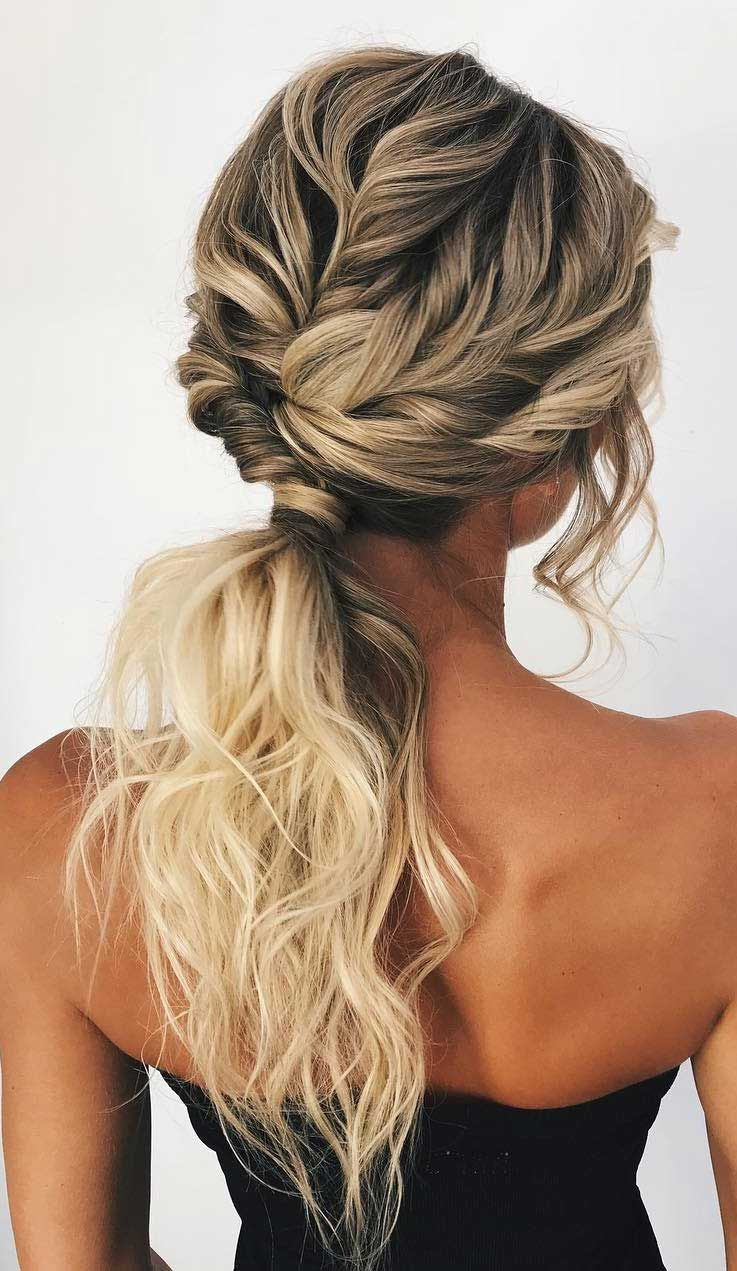 53 Best Ponytail Hairstyles Low And High Ponytails To Inspire Ponytail Hairstyles Short Hair Styles Easy Hair Styles