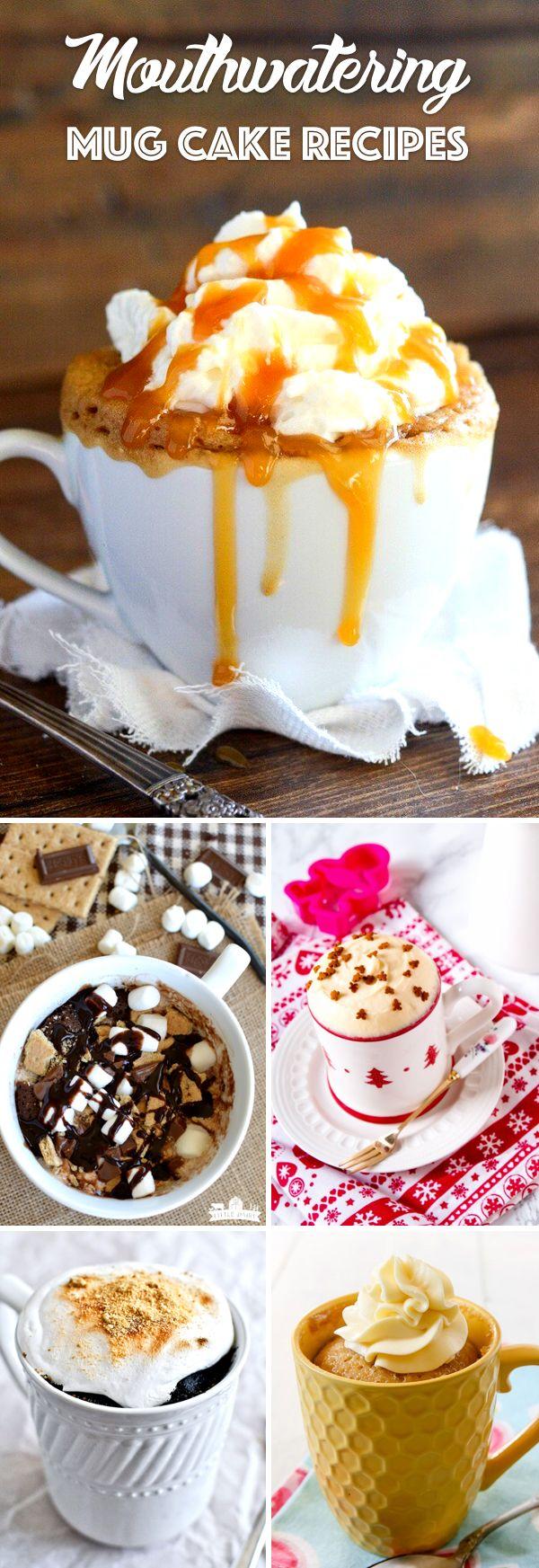 35 Mouthwatering Mug Cake Recipes To Prepare a Single ...