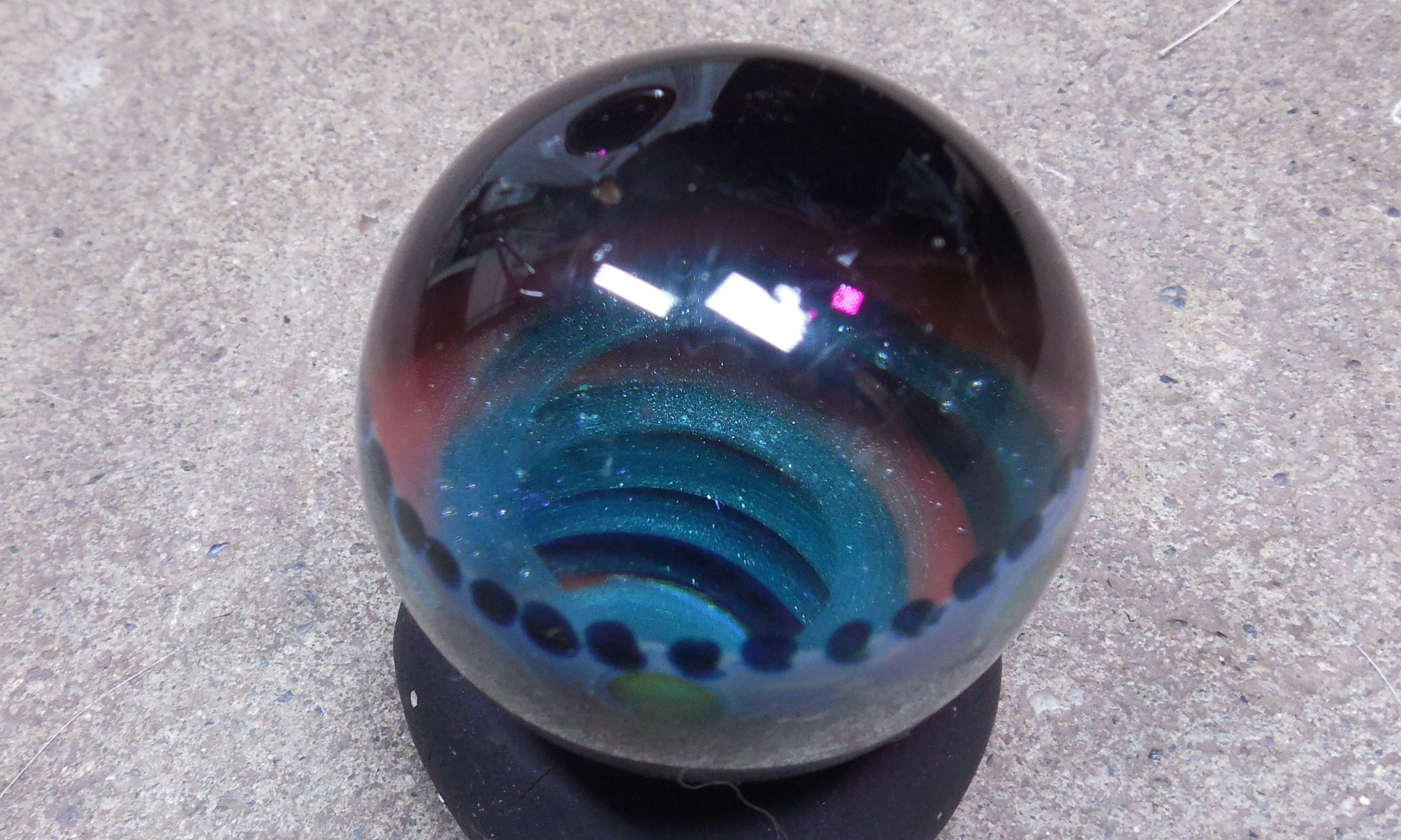 Deep Vortex Down The Hole You Go The 500 Likes Celebration Marble Giveaway On My Facebook Page In Septemb Contemporary Glass Art Glass Marbles Gorgeous Glass