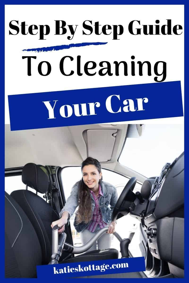 How To Clean A Car In A Jiffy