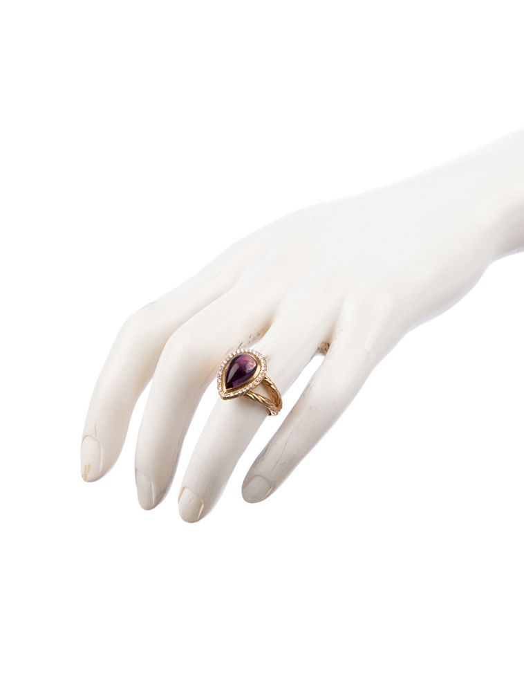 The RealReal - Amethyst and Diamond Ring