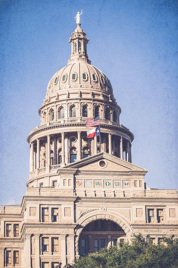 Texas Photography Texas State Capitol Austin Texas Austin