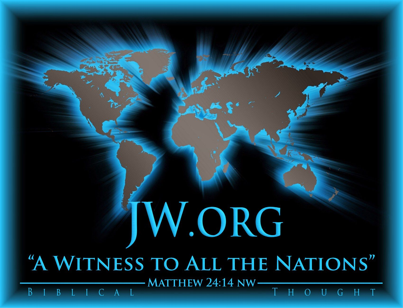 #jw.org (check it out with your own Bible) World Map Wallpaper