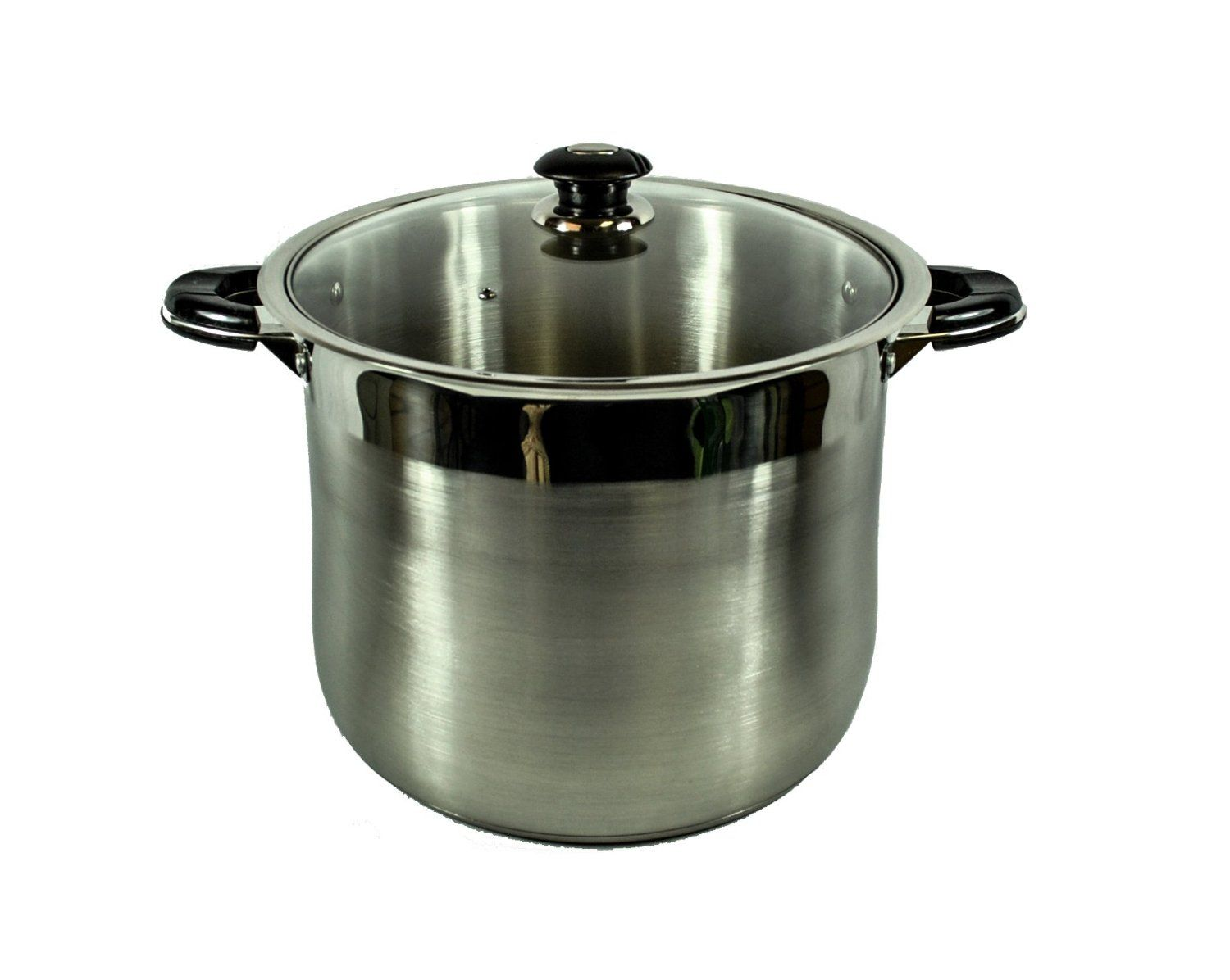 Alpha 5512 stainless steel stock pot with