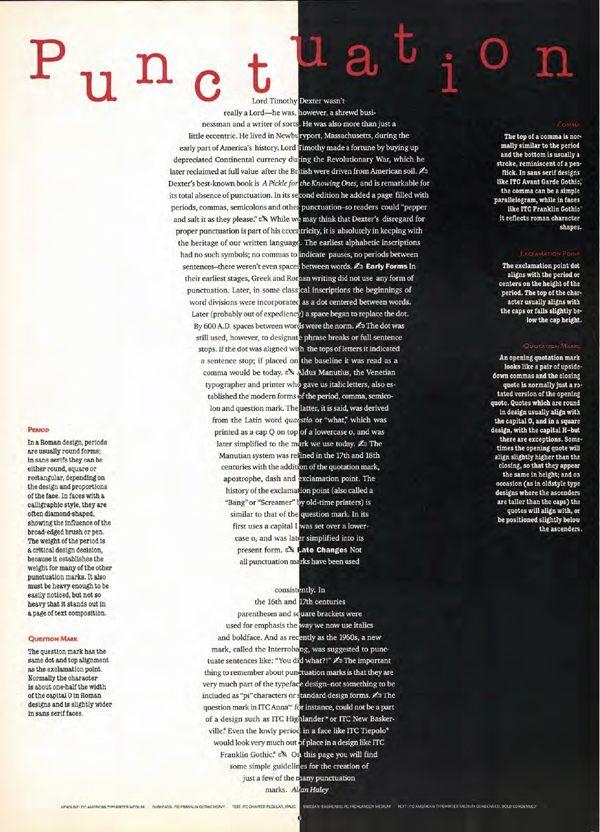 TypeTalk: U&lc Magazine Retrospective part 2, Type Taking Shape…