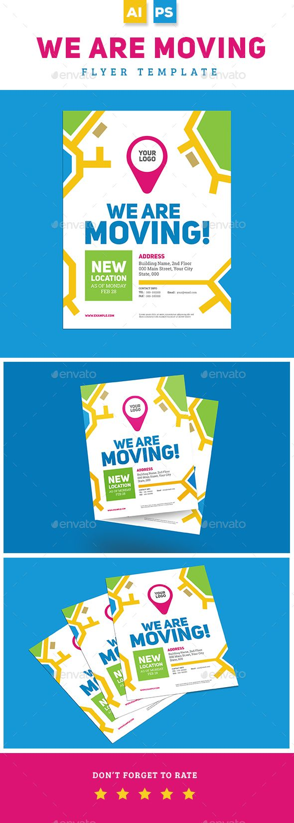 we are moving flyer template psd ai illustrator flyer templates