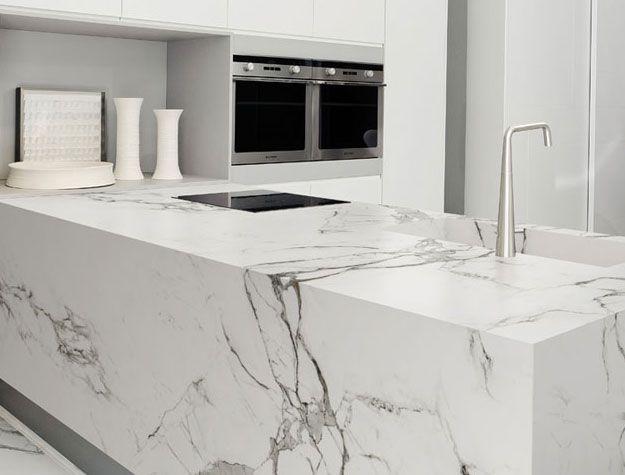 Dekton Dekton Kitchen Countertops Weisser Marmor Kuche Moderne Weisse Kuchen Moderne Kuchenideen