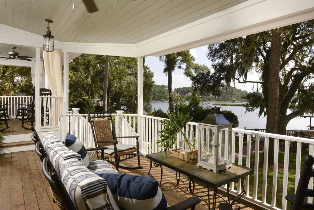 Beautiful outdoor living space and view! From Shoreline ... on Beautiful Outdoor Living Spaces id=64697