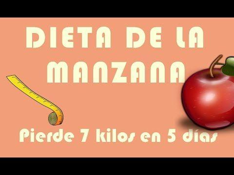 Dieta para adelgazar 7 kilos en 5dias