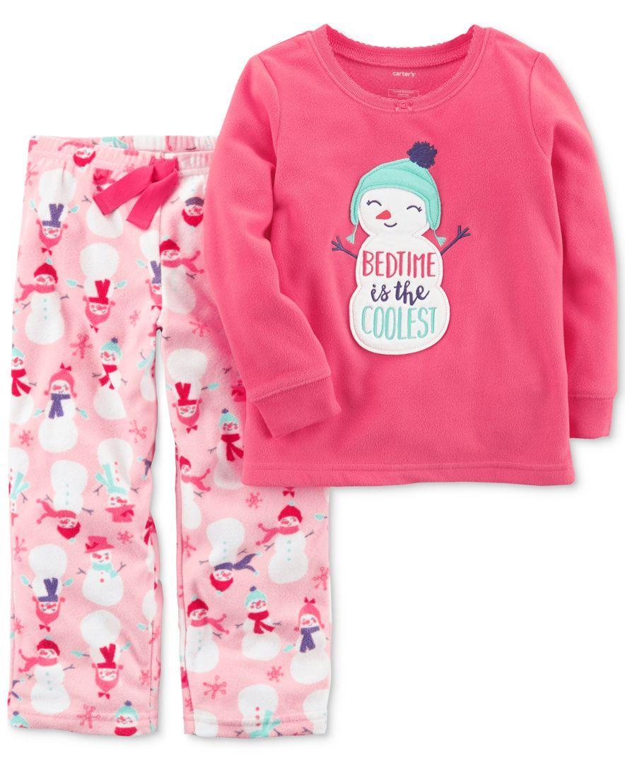 440ebff28 Carter s 2-Pc. Snowman Pajama Set