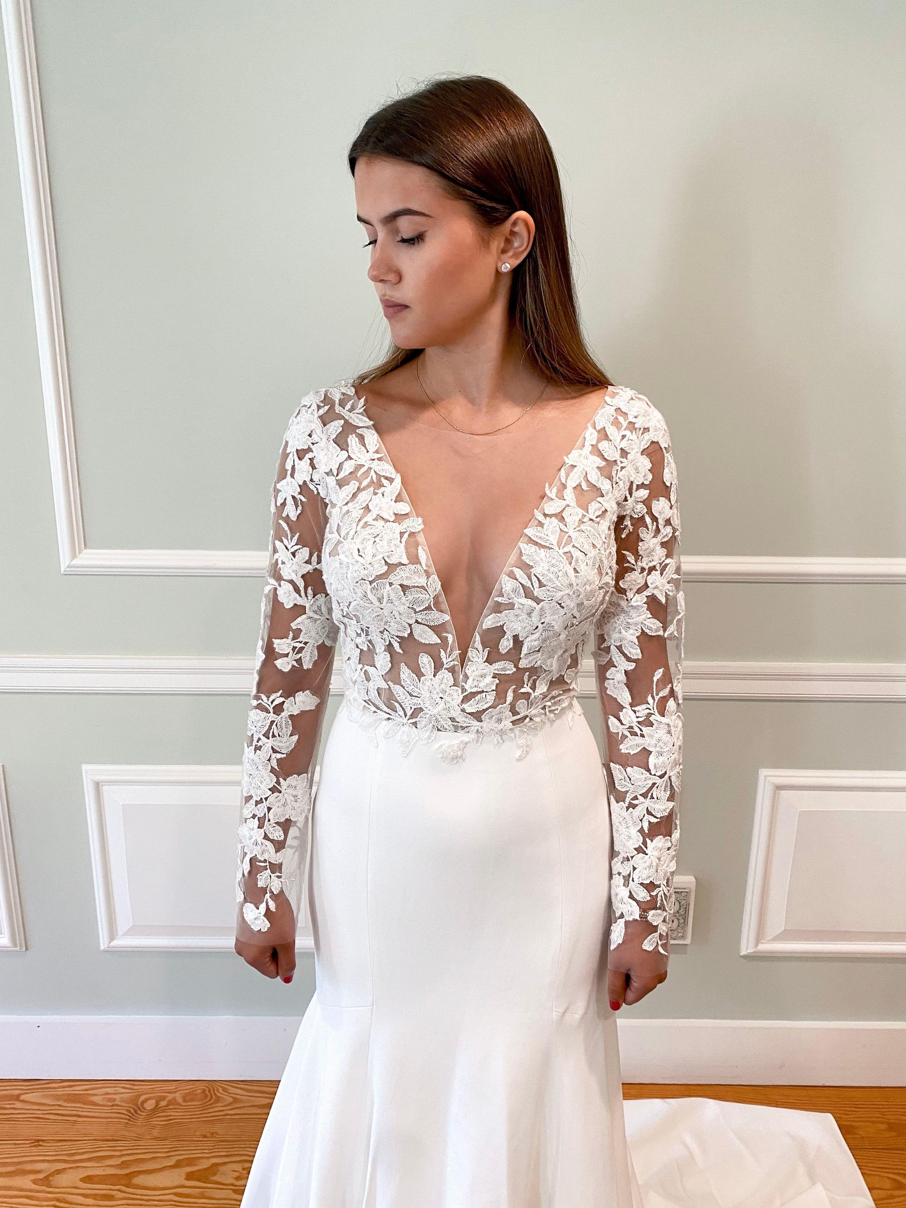 Lisette Jenny Yoo Timeless Wedding Dress Wedding Dresses Lace Luxury Bridal [ 3865 x 2899 Pixel ]