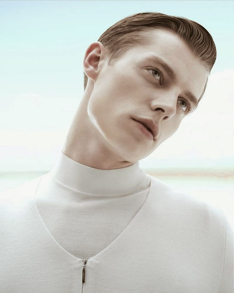 """Janis Ancens by Yin Chao in """"Inner Senses"""" editorial for M Magazine"""