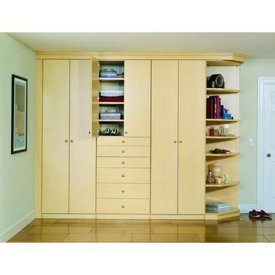 Closet storage for inside of bedroom home pinterest for Inside wardrobe storage