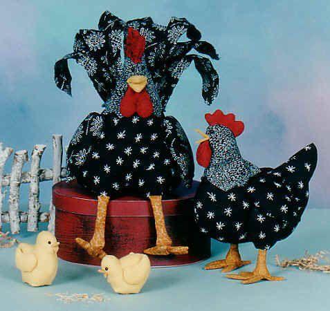 Pollos de Cotton Ginny, Vacas y Cerdos Patrones